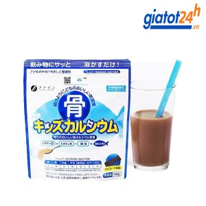 bột canxi cá tuyết cho trẻ em fine japan có tốt không