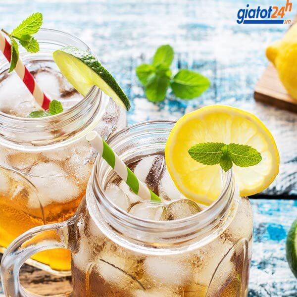 bột trà chanh lipton iced tea lemon có tốt không