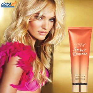 dưỡng thể victoria's secret fragrance lotion amber romance có tốt không