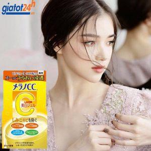 gel dưỡng trắng da trị nám cc melano brightening gel có tốt không