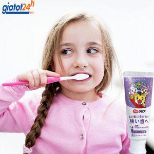 kem đánh răng cho bé sunstar 70gr có tốt không