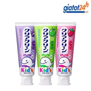 kem đánh răng trẻ em kids kao có tốt không