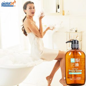 sữa tắm mỡ ngựa horse oil moisture body soap có tốt không