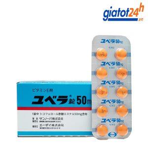 viên uống bổ sung vitamin e juvela 50mg có tốt không