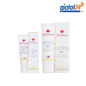 kem chống nắng cell fusion c Derma Relief Sunscreen 100 có tốt không