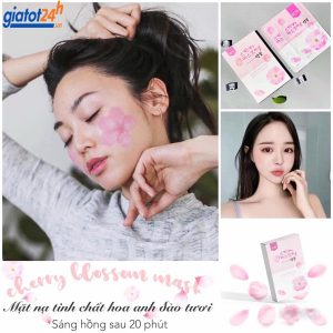 mặt nạ hoa anh đào genie cherry blossom có tốt không