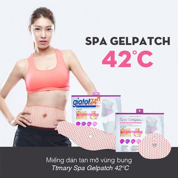 miếng dán giảm mỡ bụng spa gel patch 42 độ c có tốt không
