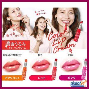 son dưỡng môi dhc dence moist color lip cream có tốt không