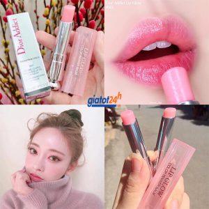 son dưỡng môi dior addict lip glow 001 pink mua ở đâu