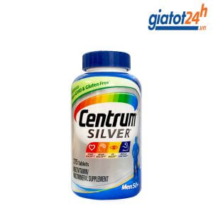 vitamin tổng hợp cho nam trên 50 tuổi centrum silver có tốt không