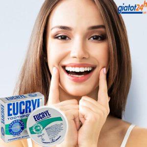 bột tẩy trắng răng eucryl có tốt không