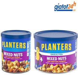 hạt hỗn hợp planters mixed nuts có tốt không