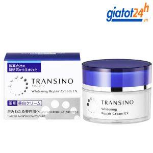kem dưỡng trắng và tái tạo da transino có tốt không