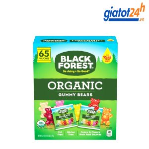 kẹo dẻo gấu black forest organic có tốt không