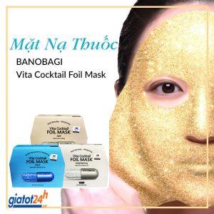 mặt nạ thuốc banobagi vita cocktail foil mask có tốt không