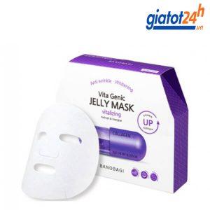 mặt nạ thuốc banobagi vita genic jelly mask vitalizing có tốt không