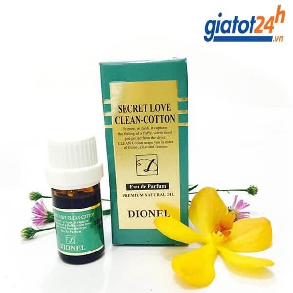 Nước hoa vùng kín Dionel Secret Love rất thơm quyến rũ màu xanh