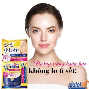 kem dưỡng trắng da meishoku whitening essence cream có tốt không
