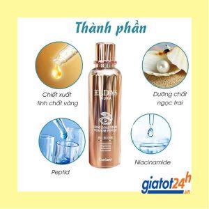 serum eldas aura shine gold pearl premium peptide có tốt không