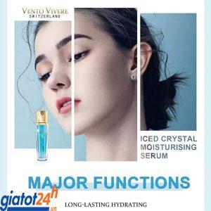 serum vento iced crystal moisturising có tốt không