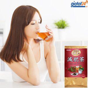 trà giảm mỡ bụng genpi orihiro tea có tốt không