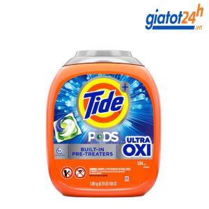 viên giặt tide pods ultra oxi có tốt không