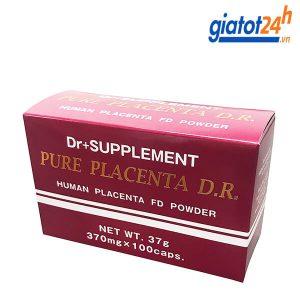 viên uống tế bào gốc nhau dr+ supplement pure placenta d.r có tốt không