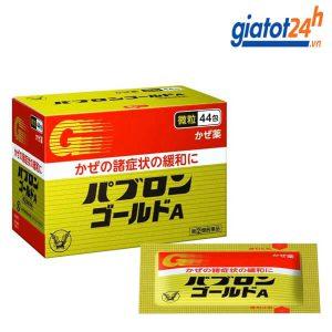 bột hỗ trợ điều trị cảm cúm taish pabron gold a có tốt không