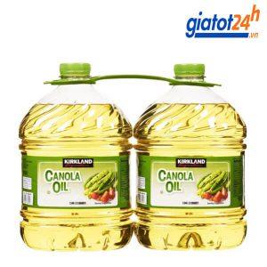 dầu ăn kirkland signature canola oil 2.84l có tốt không