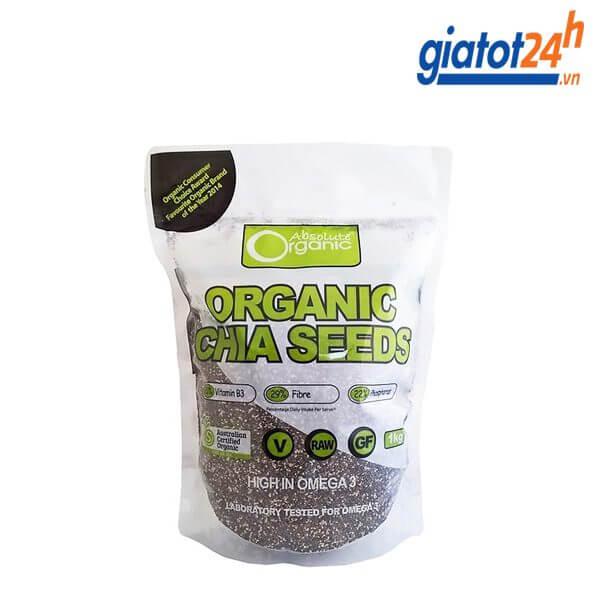 hạt chia organic chia seeds úc có tốt không