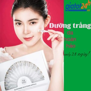 huyết thanh suiskin glutathione brightening ampoule có tốt không