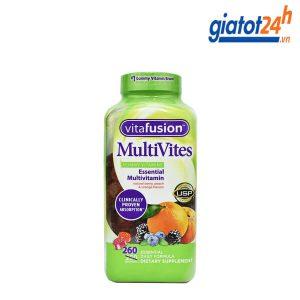 kẹo dẻo vitamin tổng hợp vitafusion multivites có tốt không