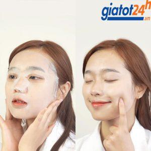 mặt nạ giảm mụn dưỡng sáng da derladie witch hazel mask có tốt không