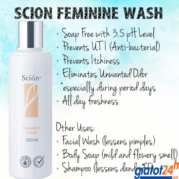 nước rửa phụ khoa nu skin scion có tốt không