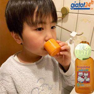 nước súc miệng trẻ em propolinse có tốt không
