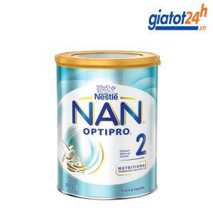 sữa bột nan optipro số 2 có tốt không
