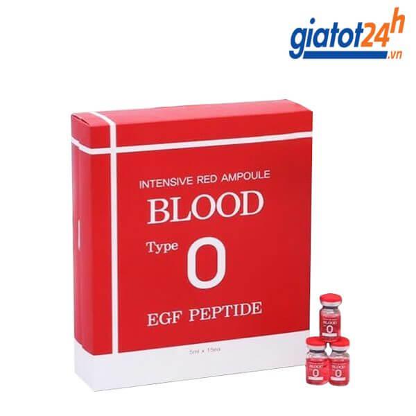 tế bào gốc intensive red ampoule blood o có tốt không