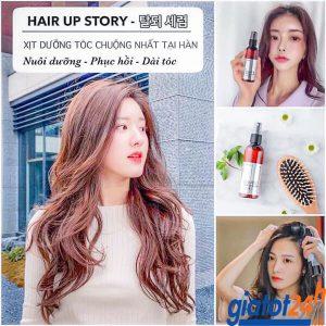 tinh chất xịt mọc tóc genie hair up story có tốt không