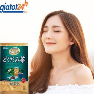 trà diếp cá orihiro dokudami tea có tốt không