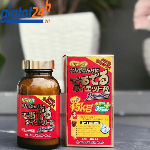 viên uống giảm cân 15kg minami healthy foods có tốt không