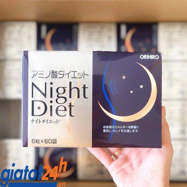 viên uống giảm cân orihiro night diet có tốt không