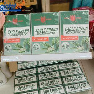 Dầu Khuynh Diệp Eagle Brand Eucalyptus Oil 30ml mua ở đâu