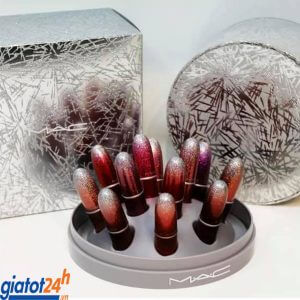 Set 12 Cây Son M.A.C Surefire Hit Mini Lipstick Kit mua ở đâu
