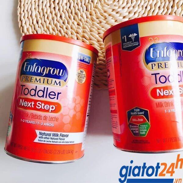 sữa bột enfagrow premium toddler next step có tốt không