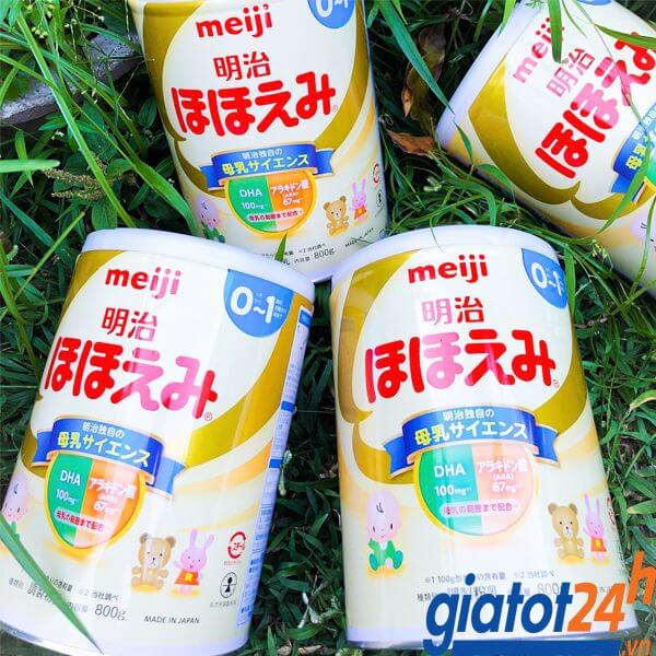 sữa bột meiji 0-1 nhật bản có tốt không