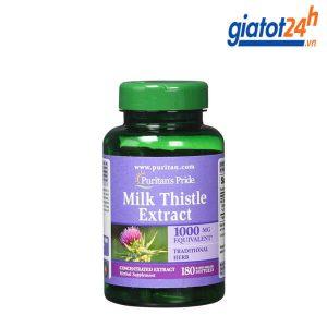 thuốc bổ gan milk thistle extract 1000mg có tốt không
