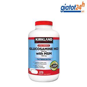 viên bổ khớp glucosamine kirkland hcl 1500mg có tốt không