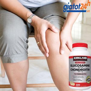 viên bổ khớp kirkland signature glucosamine 1500mg & chondroitin 1200mg có tốt không