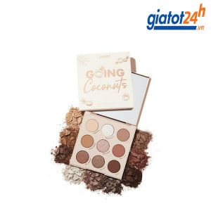 Bảng Phấn Mắt 9 Ô Colourpop Going Coconuts Shadow Palette