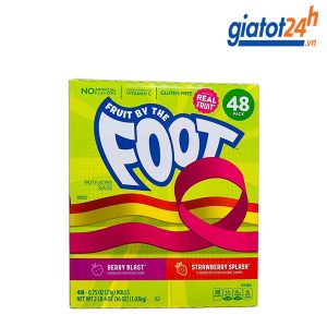 Kẹo Cuộn Fruit By The Foot Fruit Flavored Snacks 48 Cuộn